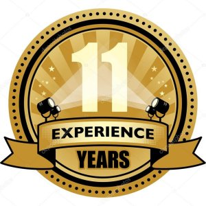 11 Years Experience