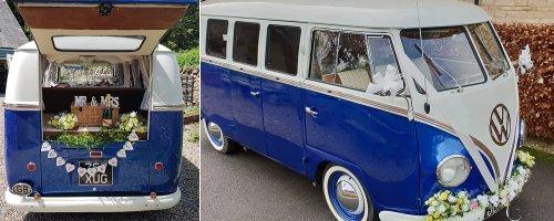 VW Classic Camper Wedding
